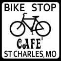 2014 bike stop cafe logo